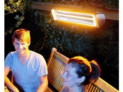 Vodotěsný radiátor zahradní Malaga