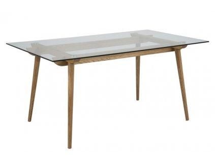 Stôl Taxi Z sklo / drevo