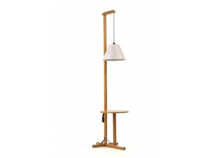 Floor Table Lamp 02 White