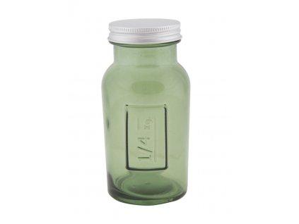 Vysoká pohára s krytím z recyklovaného skla GREEN 6,5X13,5ze Španielska