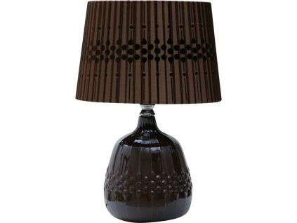 Stolná lampa BRAID BROWN