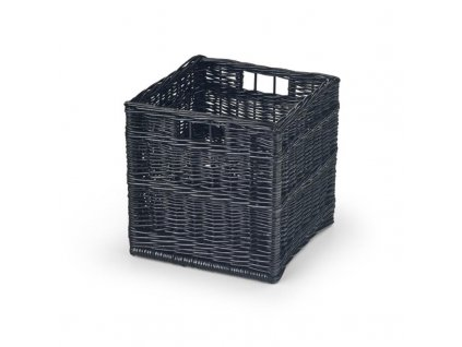 WOODY zásuvka čierna