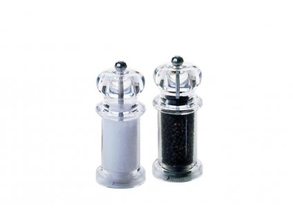 CLASSIC sada mlynčekov soľ a korenie 14 cm, acryl