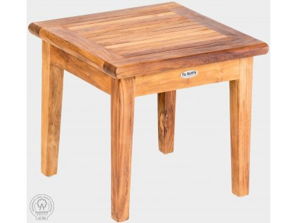 Teaková stolička 50x50 cm PAOLO