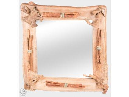 Zrkadlo z teaku ZRKADLO