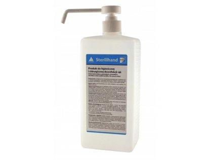 160104 profesionalni virucidni dezinfekce na ruce s pumpickou rozprasovac anti covid 1 l