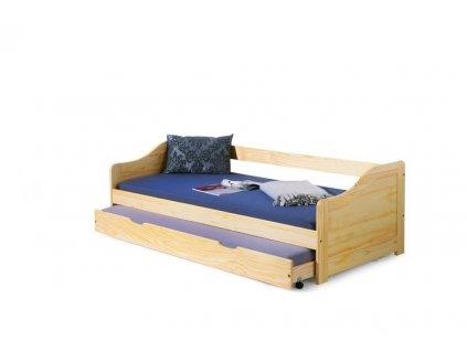 LAURA posteľ sosna