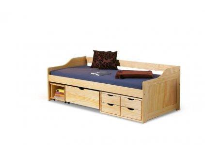 MAXIMA posteľ sosna