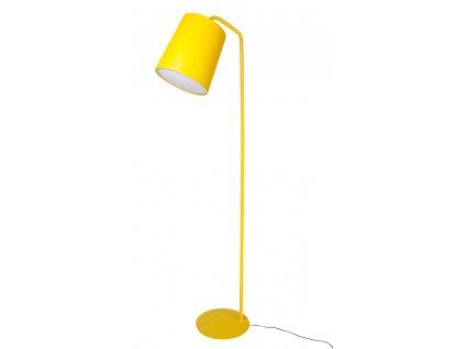 LAMPA FLOOR FLAMING ŽLTÁ