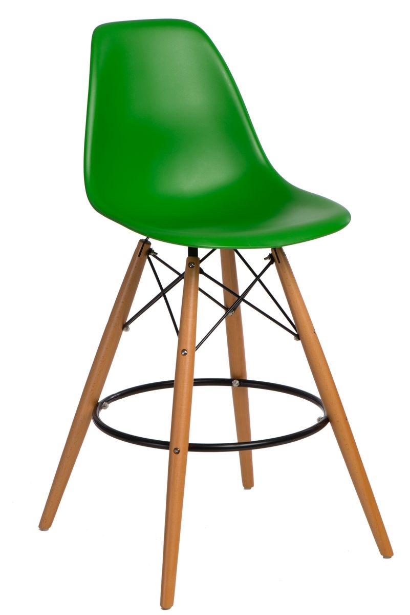 Barová stolička P016V PP tmavo zelená