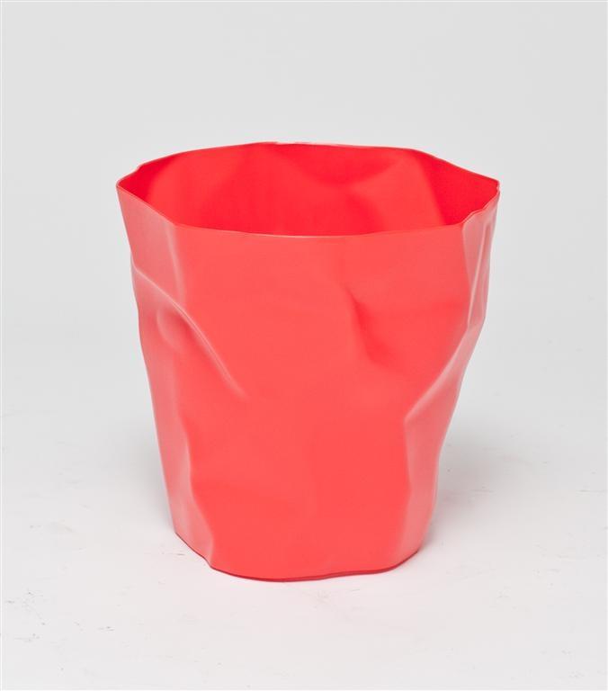 """Design2 Kôš na odpadky """"Papier"""" červený"""