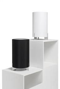 Design2 Lampa stolná Aita biela chróm