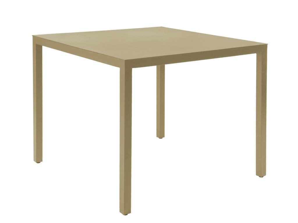 Stôl Barcino 70x70 na 4 nohách pieskový