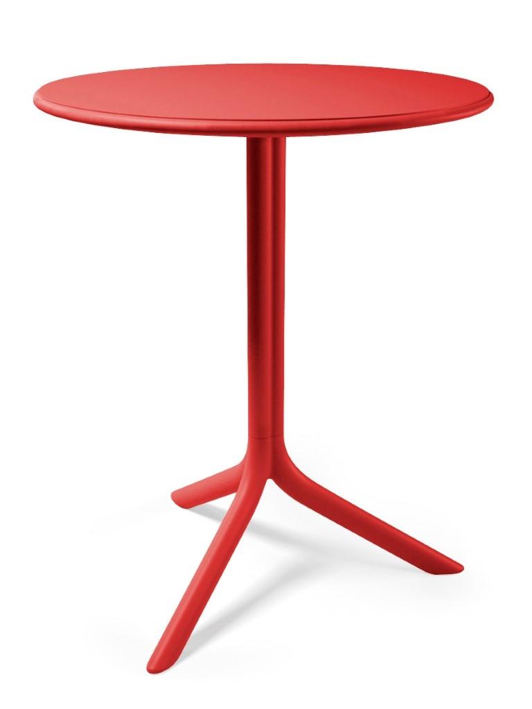 Design2 Stôl Spritz červený