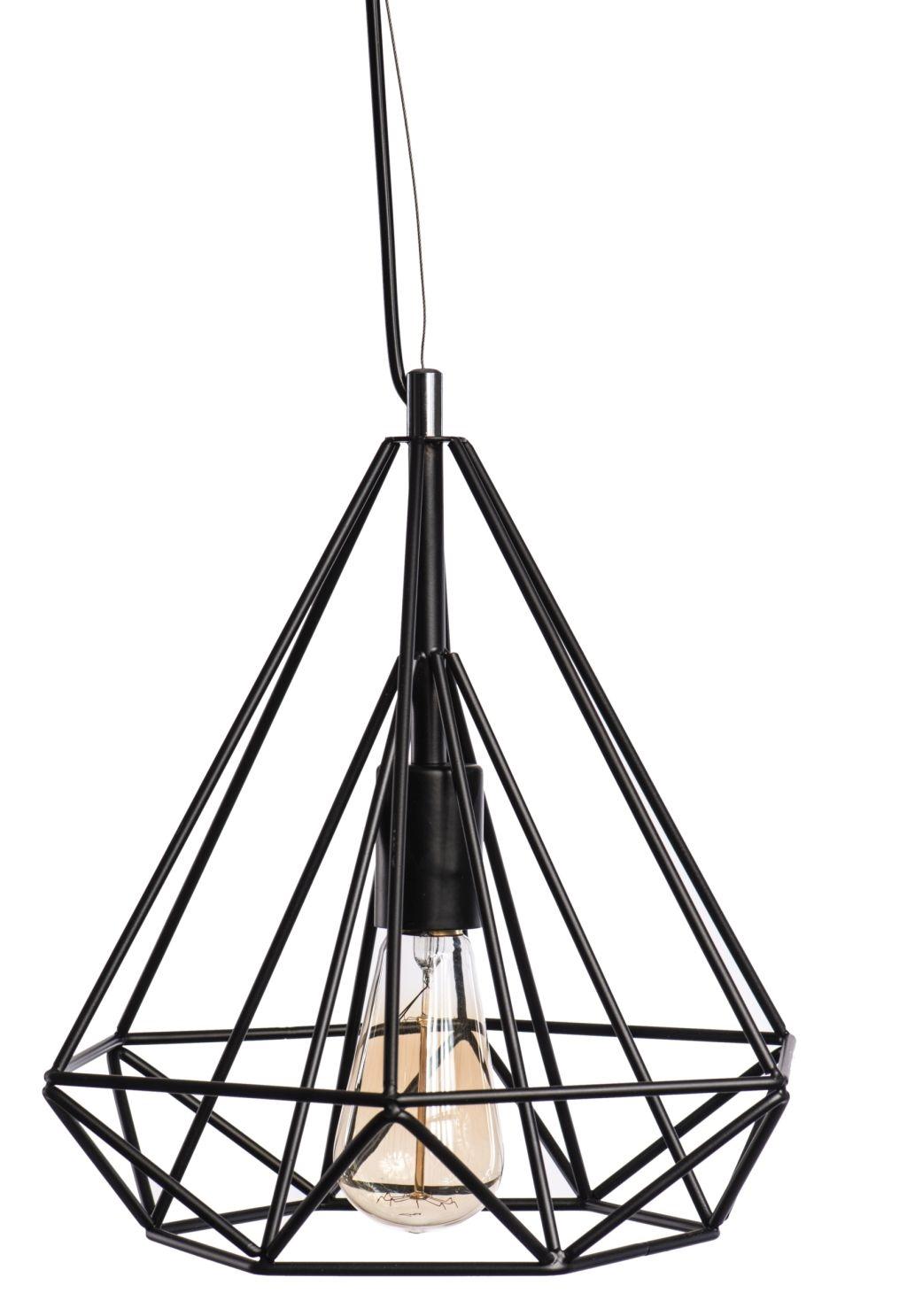 Luster - Závesná lampa Matrix 280 čierna