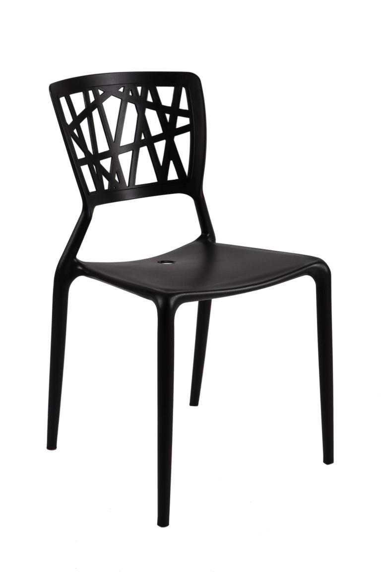 Design2 Stoličky Bush čierna