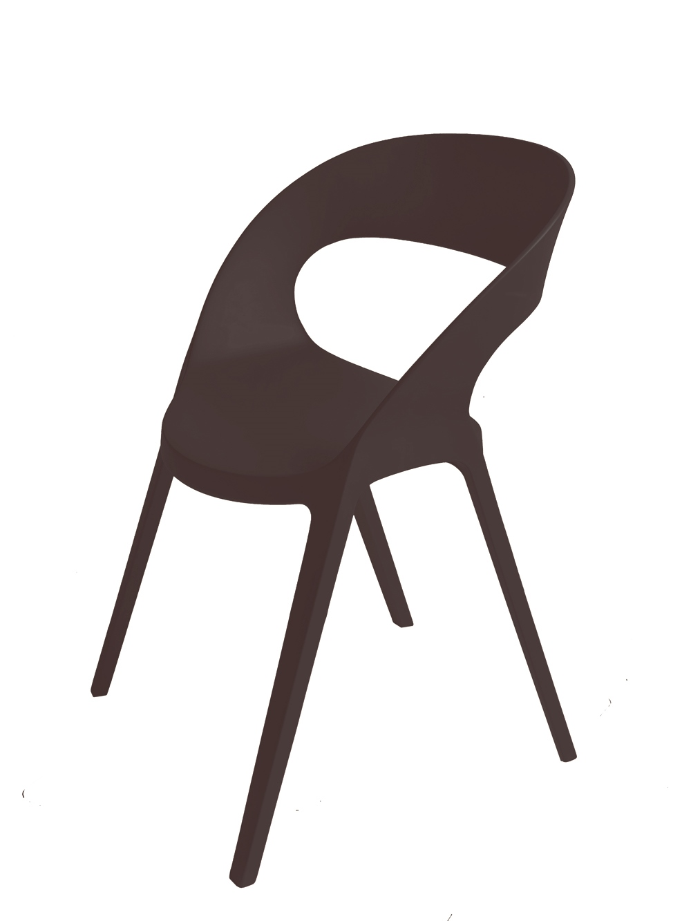 Design2 Stoličky Carla čierna
