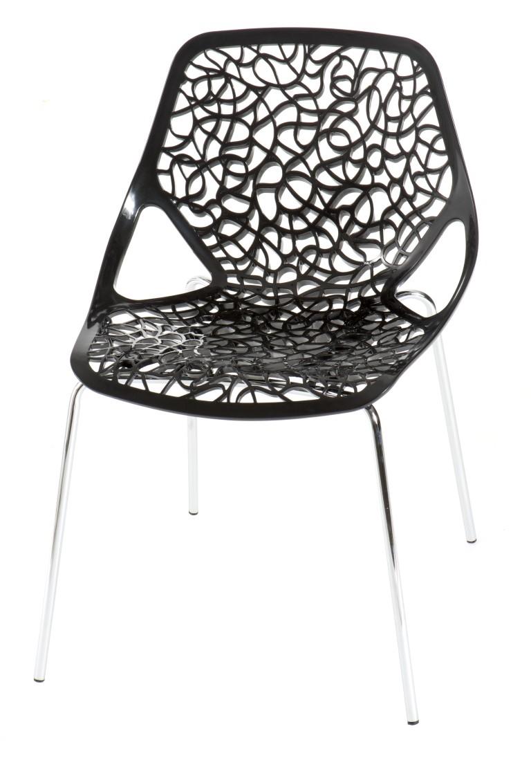 Design2 Stoličky čepeliam čierna