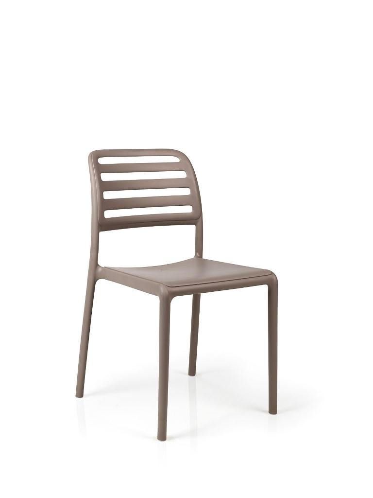 Stoličky Costa šedá