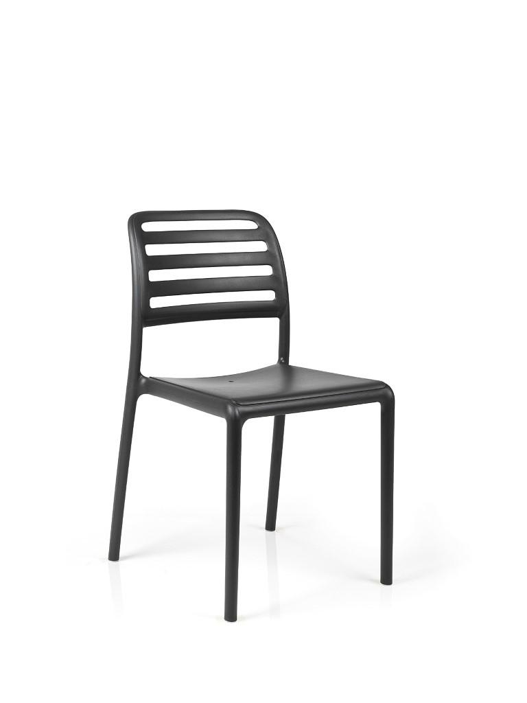 Stoličky Costa čierna