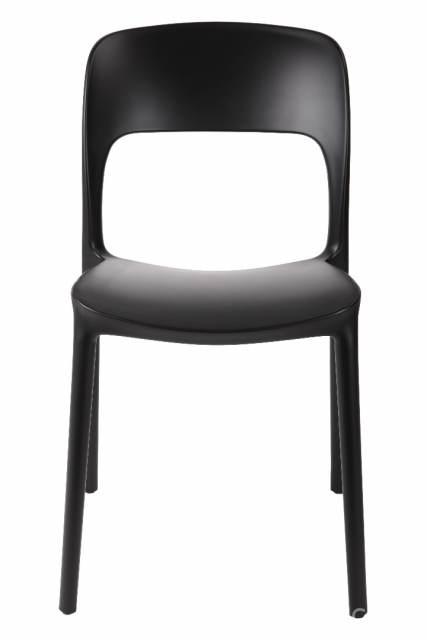 Design2 Stoličky Flexi čierna