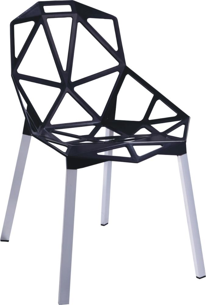 Stoličky Gap čierna