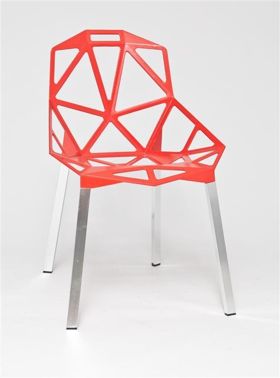 Stoličky Gap červená
