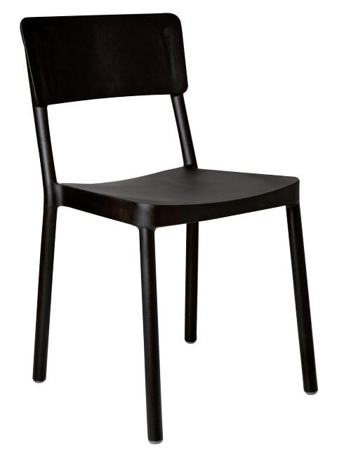 Design2 Stoličky Lisboa čierna