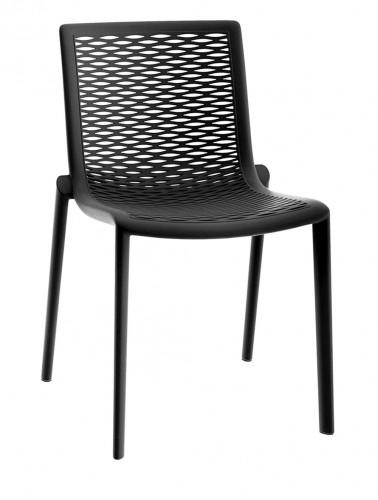 Stoličky NETKAT čierna