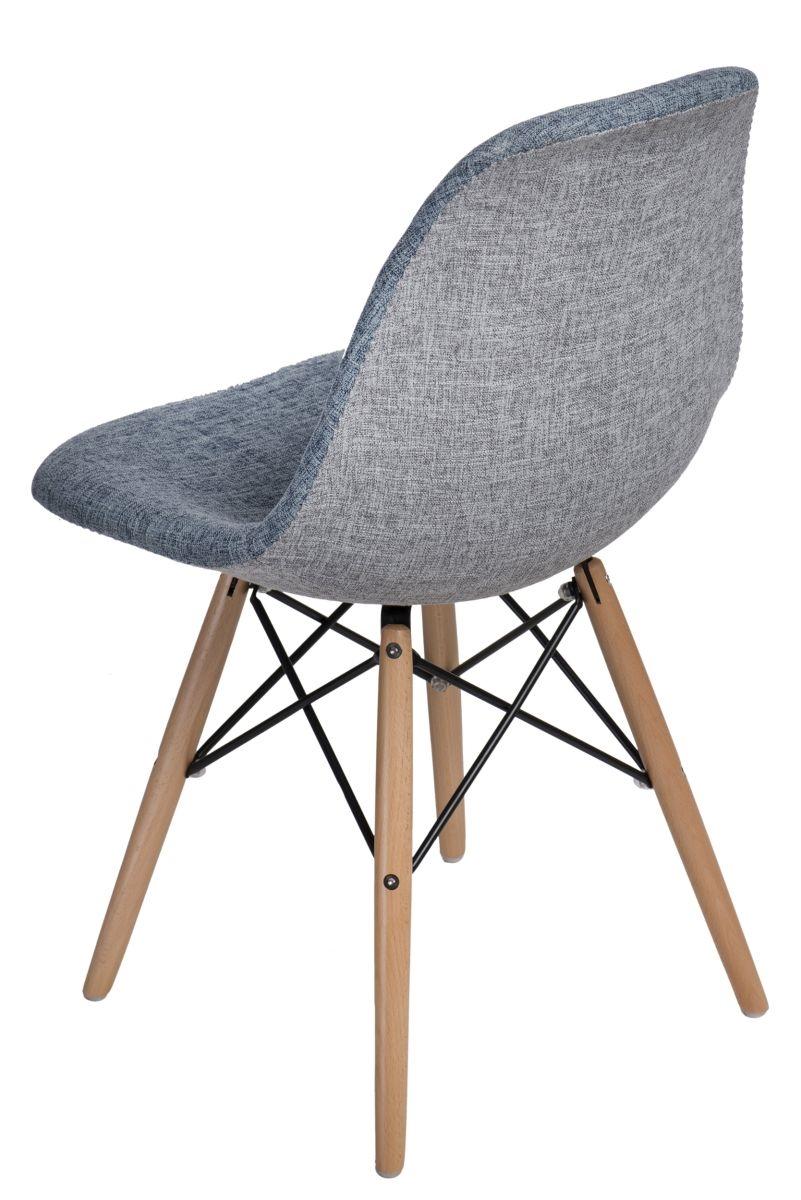 Stoličky P016V Duo modrá sivá