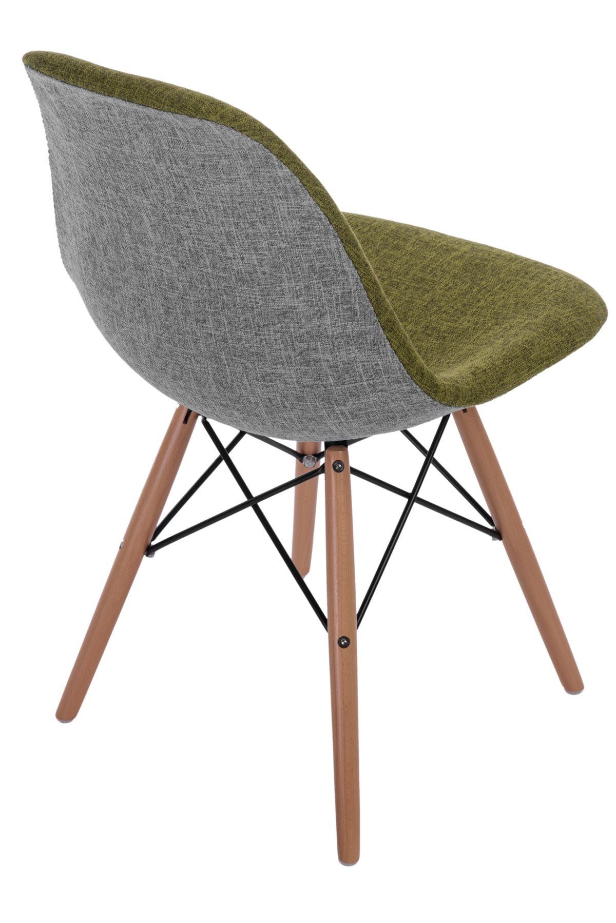 Stoličky P016V Duo zelená šedá