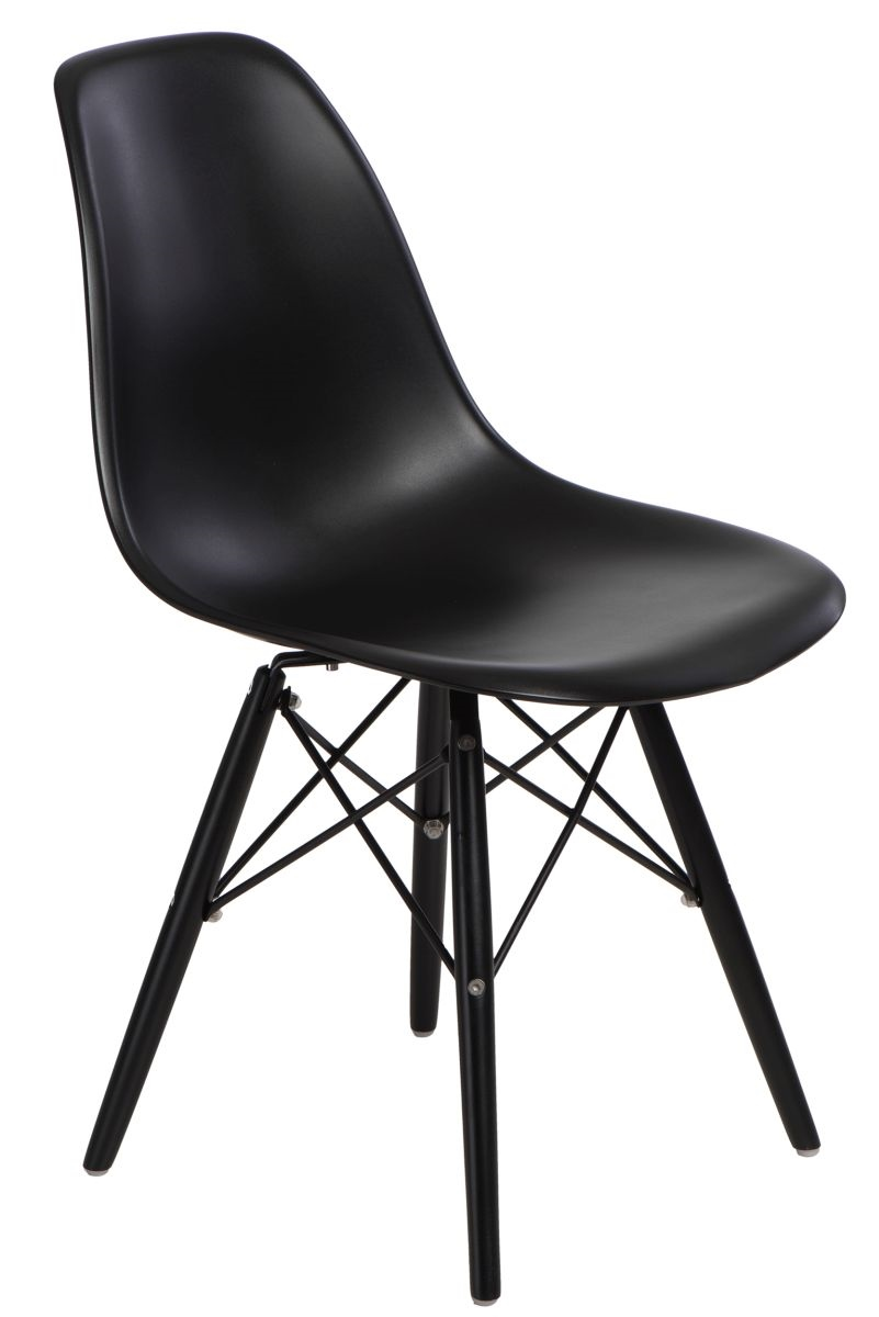 Design2 Stoličky P016V PP čierna / čierna