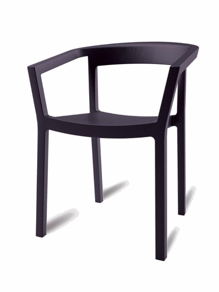 Design2 Stoličky Peach čierna