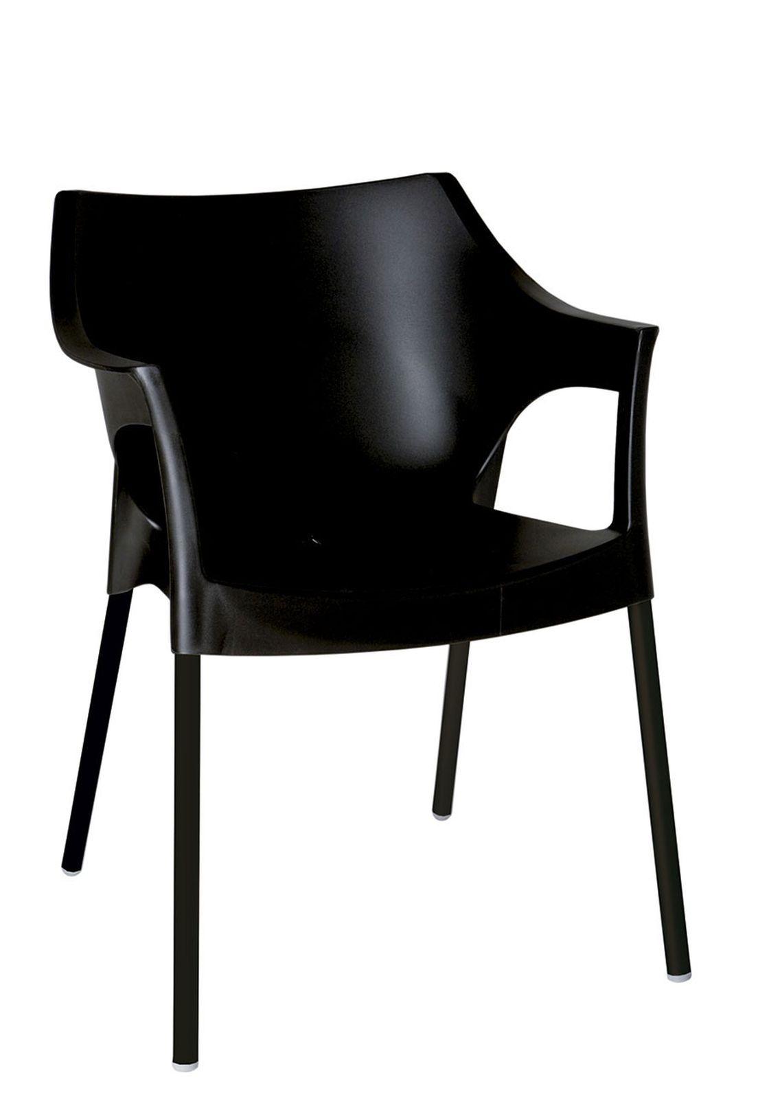 Design2 Stoličky Pole Deluxe čierna