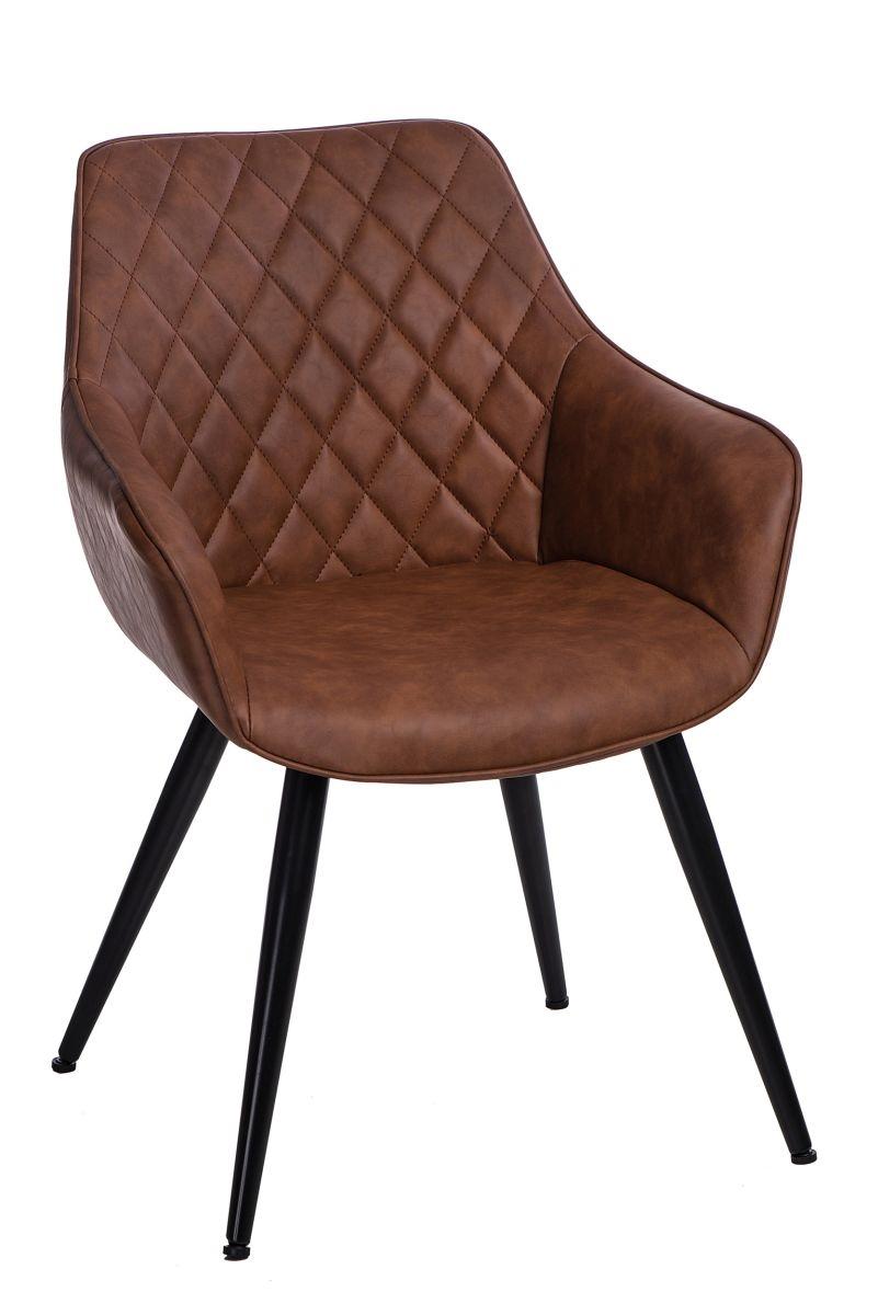Stoličky Roxana hnedá svetlá