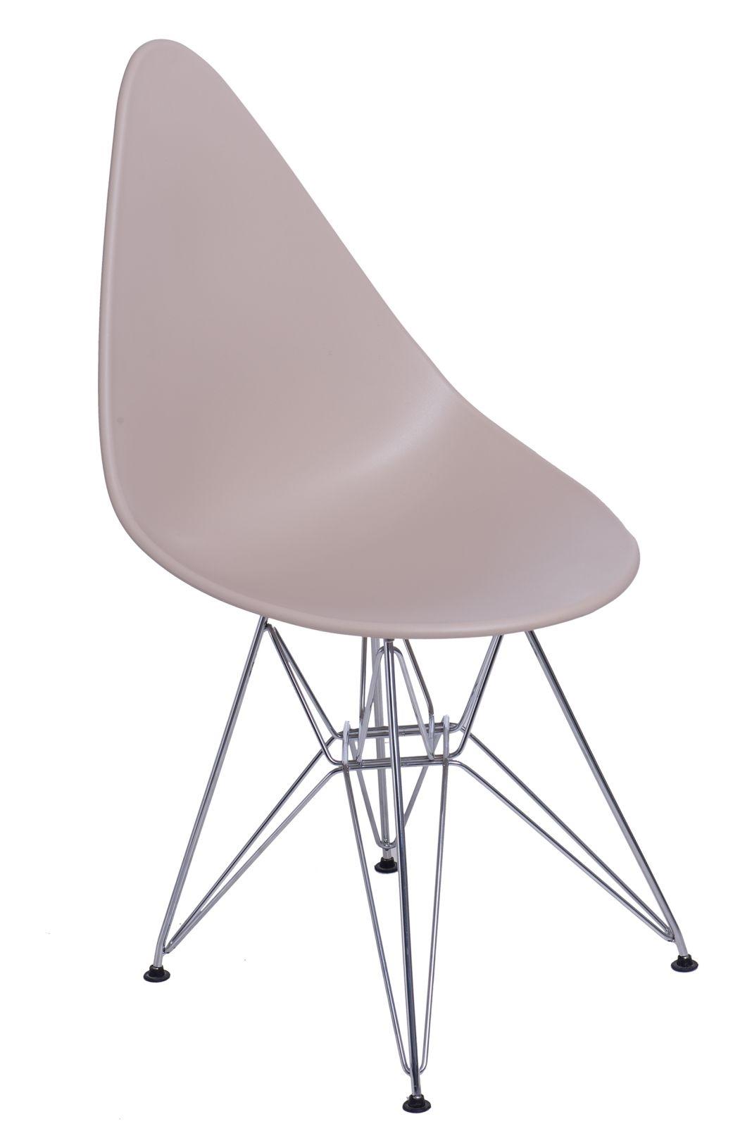 Stoličky Rush DSR béžová