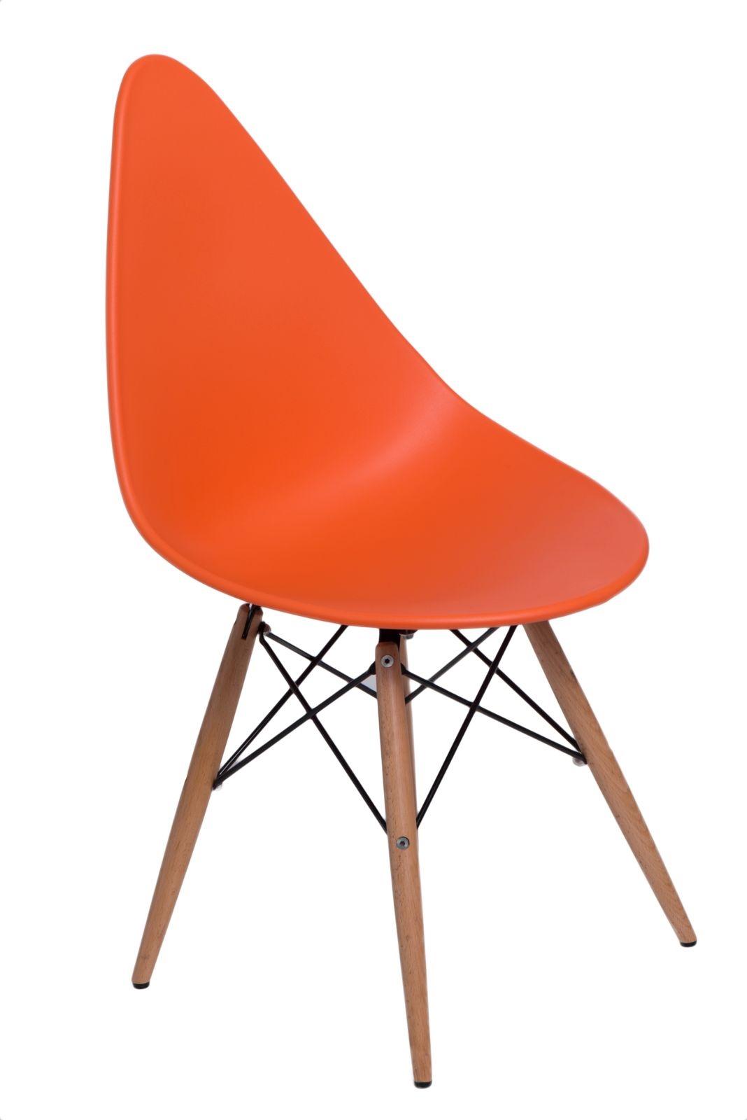 Stoličky Rush DSW oranžová