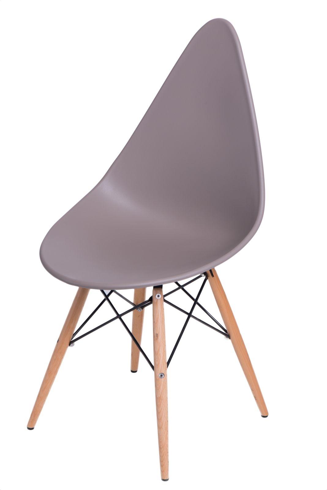 Stoličky Rush DSW šedá
