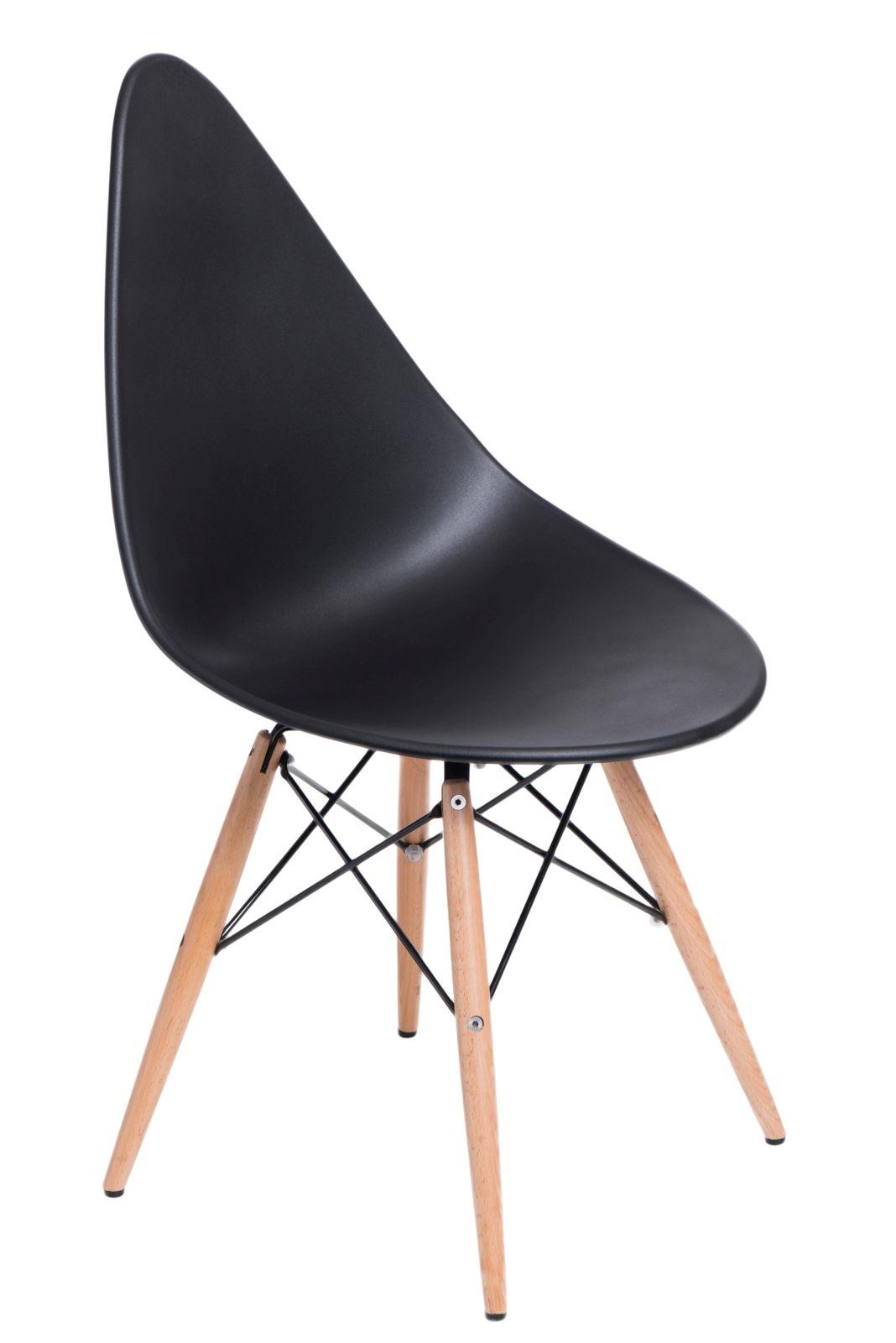 Stoličky Rush DSW čierna