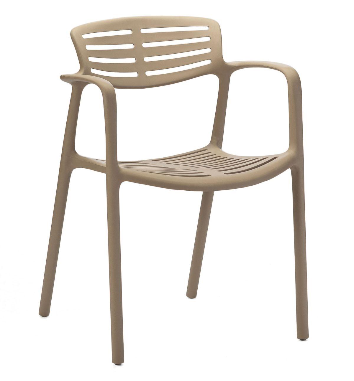 Stoličky Toledo Aire béžová