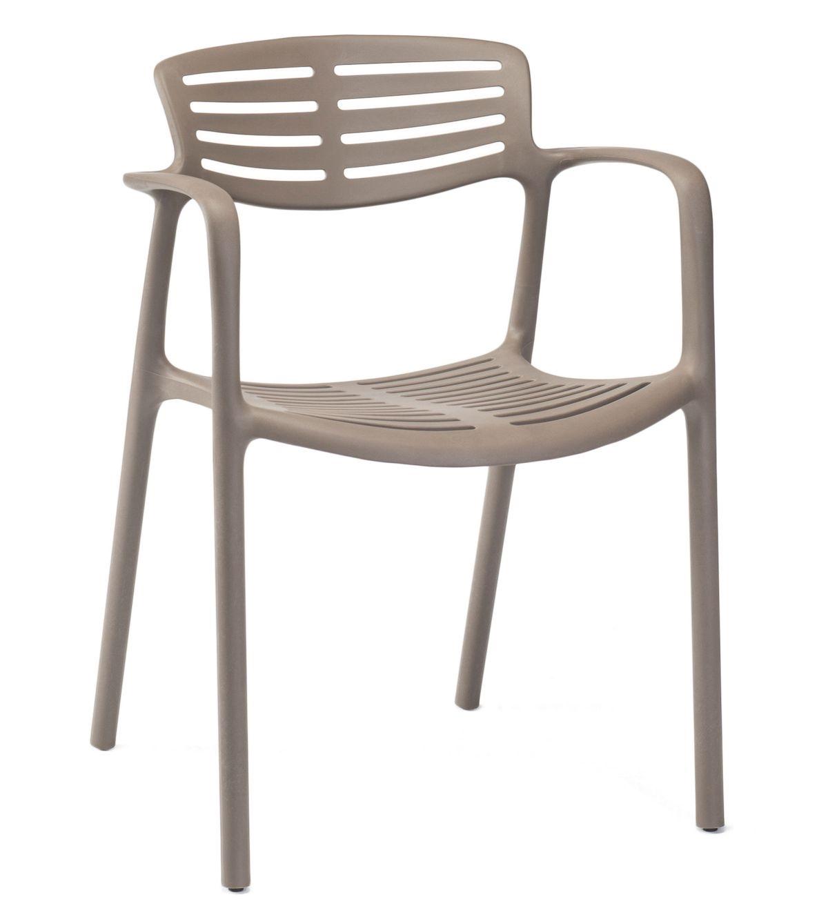 Stoličky Toledo Aire hnedá