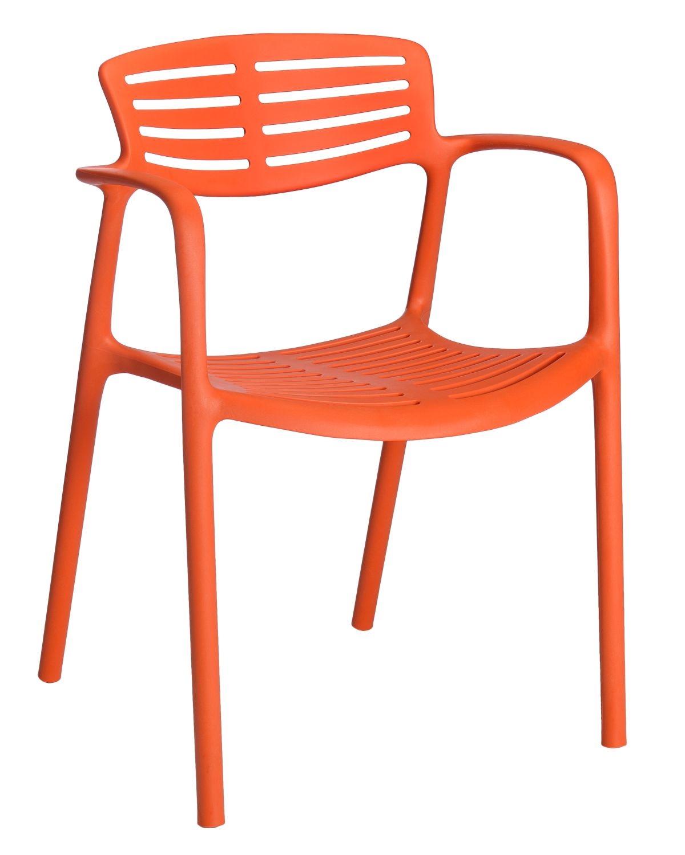 Stoličky Toledo Aire oranžová