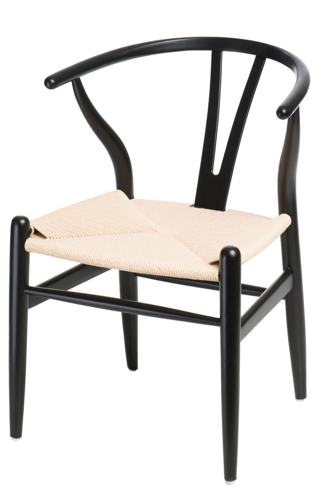 Design2 Stoličky Wicker čierna