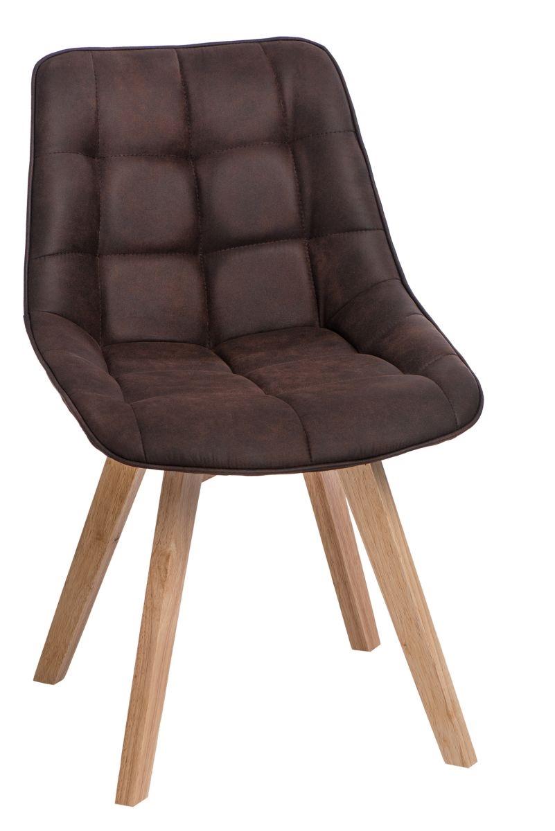 Stoličky Woody hnedá tmavá