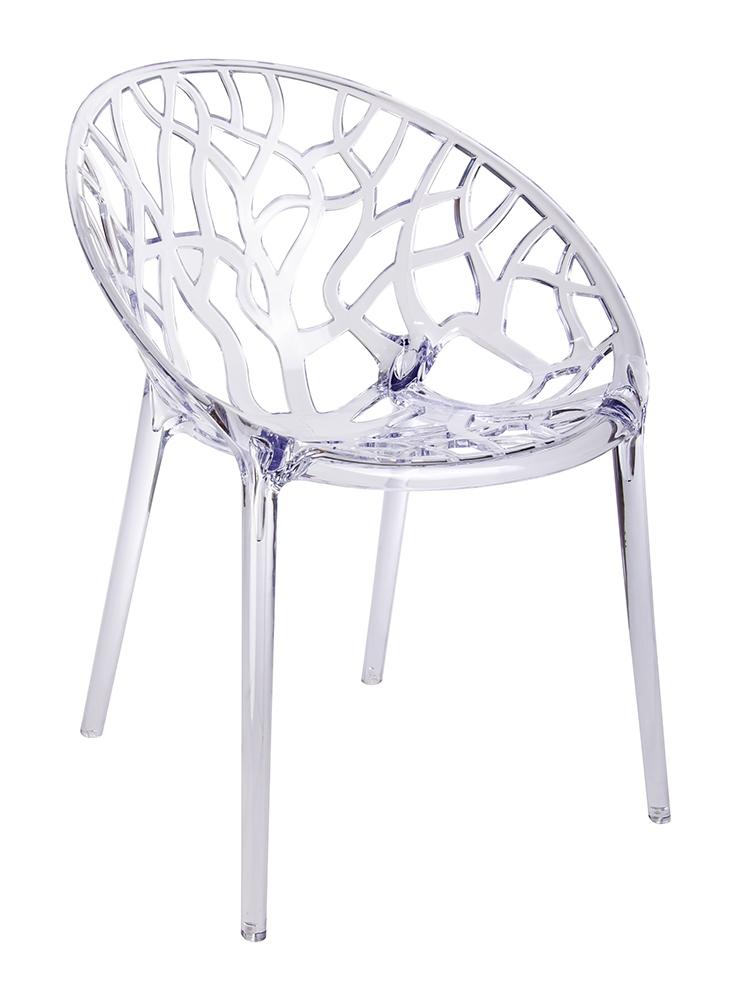 Stoličky KORAL transparentná - polykarbonát