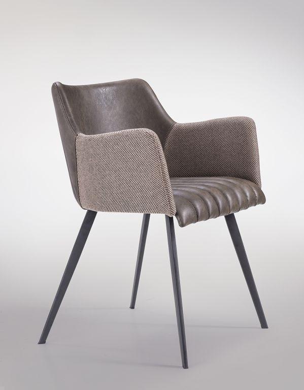 Stoličky Jeff M hnedá