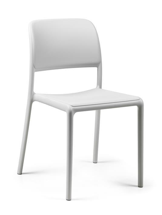 Stoličky Riva biela