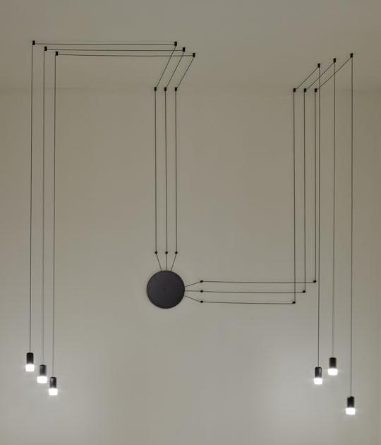KHome Závesná lampa Fluß WALL 6