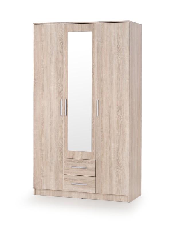 LIMA Z-3 skriňa dub sonoma / zrkadlo