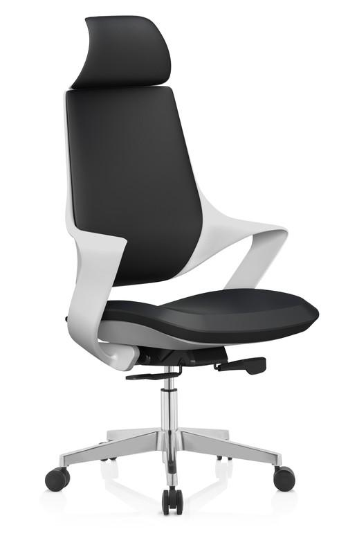 PHANTOM kancelárske kreslo čierno-biele